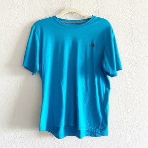 The North Face Mens Heathered Blue T Shirt Size M
